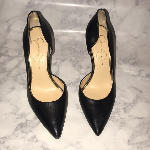 d52c3d08fde1 Black pointy high heels - Jessica Simpson. M_5bc3c56e8ad2f9617a2f046d
